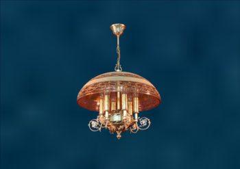 Потолочный подвес из латуни