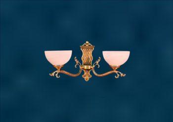 """Настенный светильник в классическом стиле из латуни """"Алдая-2"""""""