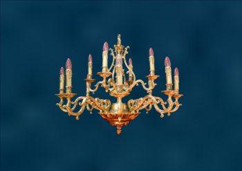 Люстра со свечами Лаура