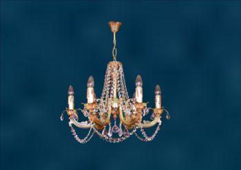Люстра со свечами Марбелья-8