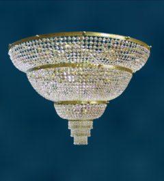 Большая хрустальная люстра Тоскана 1500
