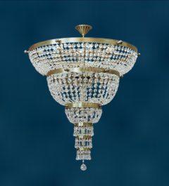 Большая хрустальная люстра Тоскана-800