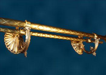 Латунный карниз Ламанча-2